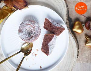 Recette Fondants Chocolat et Châtaigne
