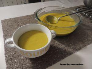 Recette Soupe poireaux et navets