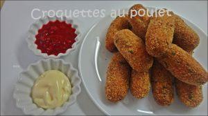 Recette Croquettes au poulet