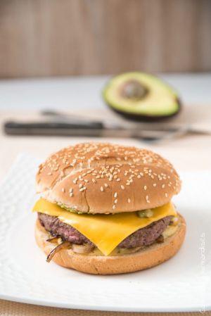 Recette Cheeseburger à l'avocat