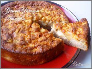 Recette Cake pommes amandes au thermomix ou cook in (ou sans)