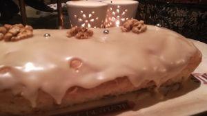 Recette Cake pomme - noix - érable