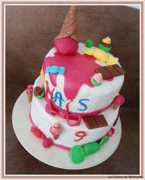 Recette Gâteau d'anniversaire : Les friandises
