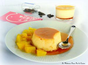Recette Crème renversée à la fève tonka