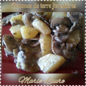 Recette Pommes de terre forestières au cookéo ou pas