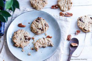 Recette Biscuit sans beurre aux céréales pécan et chocolat