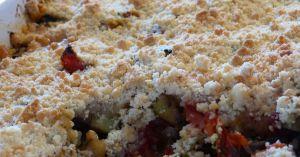 Recette Crumble de légumes