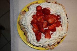 Recette Palvola aux fraise