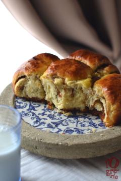 Recette Brioche à la pâte à tartiner au pain d'épices (autour du pain d'épices #3)