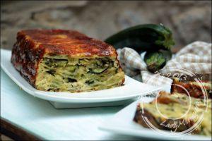 Recette Cake de ravioles aux courgettes