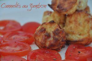 Recette Cannelés au Jambon