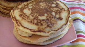 Recette Pancakes au lait d amande et vanille