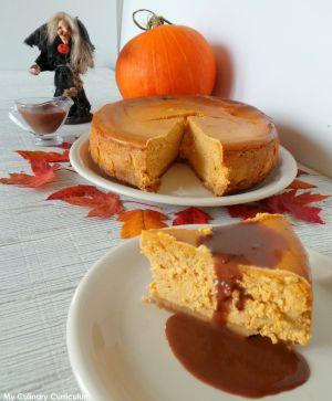 Recette Cheesecake au potiron (Pumpkin Cheesecake)