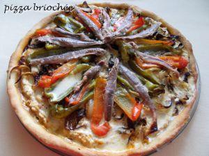 Recette Pizza briochée