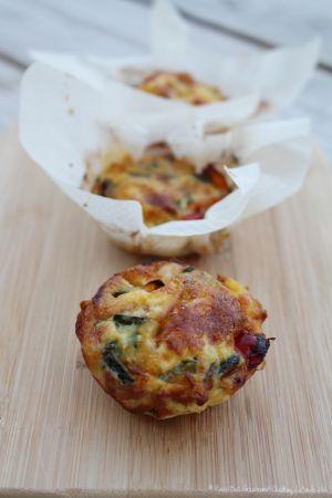 Recette Mini Frittata aux légumes du soleil