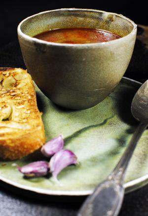 Recette Bonne soupe périgourdine : tomates et haricots