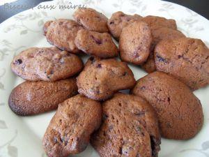 Recette Biscuits aux fruits rouges
