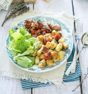 Recette Gnocchis de pomme de terre, courgette et parmesan