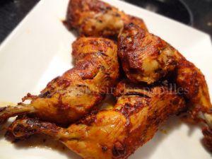 Recette Cuisses de poulet épicées