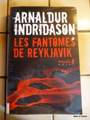 Recette Arnaldur indridason -les fant?mes de reykjavik
