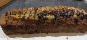 Recette Cake à la banane et au chocolat sans gluten sans lactose et sans sucre ajouté