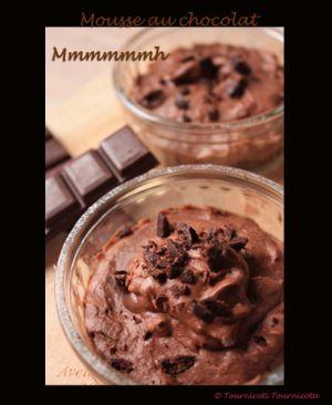 Recette Mousse au chocolat façon Julie Andrieu
