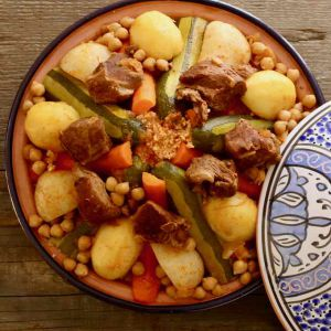 Recette Tunisie : Couscous Tunisien
