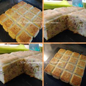 Recette Cake au Rocamadour et courgette