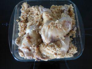 Recette Cuisse de poulet / riz COOKEO