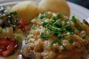 Recette Côtes de porc Soubise