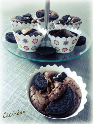Recette Oréo cup'Brownies