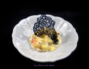 Recette De jolies tuiles de pain pour décorer vos plats !!