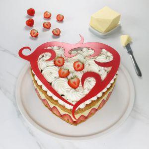 Recette Millefeuille aux fraises façon fraisier