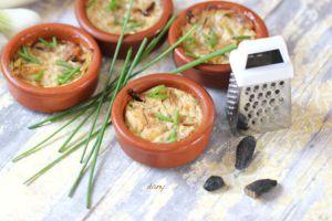 Recette Flans de poireaux à la fève tonka