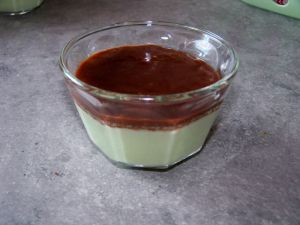Recette Duo pistache chocolat