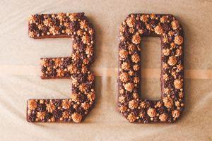 Recette Number Cake végane chocolat et spéculoos