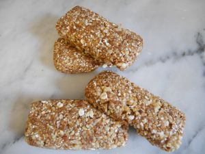Recette Barres flocons, dattes et noix