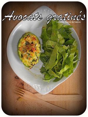 Recette Avocats gratinés