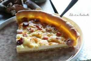 Recette Quiche au bacon & kiri