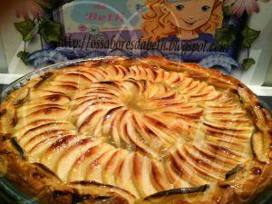 Recette Tarte aux Pommes / Tarte de Maçãs