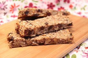 Recette Barres de céréales healthy et vegan