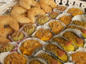 Recette Gateaux de fête gateaux algériens