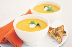 Recette Velouté de carottes _ mozzarella COOKEO