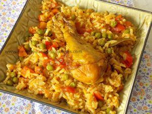 Recette Riz au poulet / cuisine algerienne