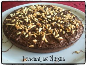 Recette Fondant au Nutella