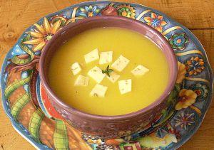 Recette Soupe à la citrouille, un drôle de