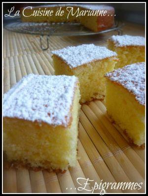 Recette Moelleux au Citron.... Nuage au Citron