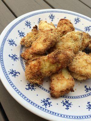 Recette Viande : Nuggets de poulet cuits au four