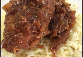 Recette Parguit cuisiné aux oignons et sauce soja