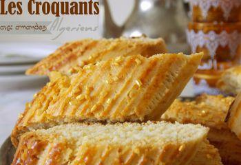 Recette Croquants : gateau algerien